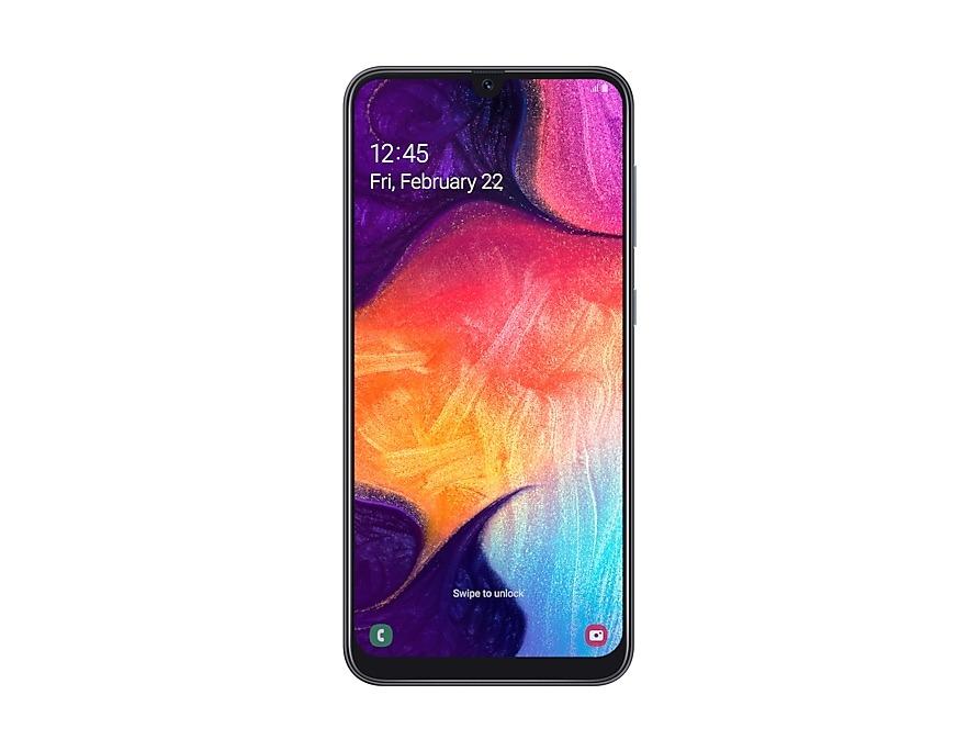 گوشی موبایل سامسونگ مدل Galaxy A50 دو سیم کارت ۱۲۸ گیگابایت با گارانتی شرکتی