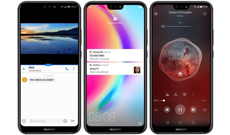 گوشی موبایل هوآوی مدل Nova 3e ANE-LX1