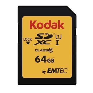 کارت حافظه SDHC کداک ظرفیت ۶۴ گیگابایت