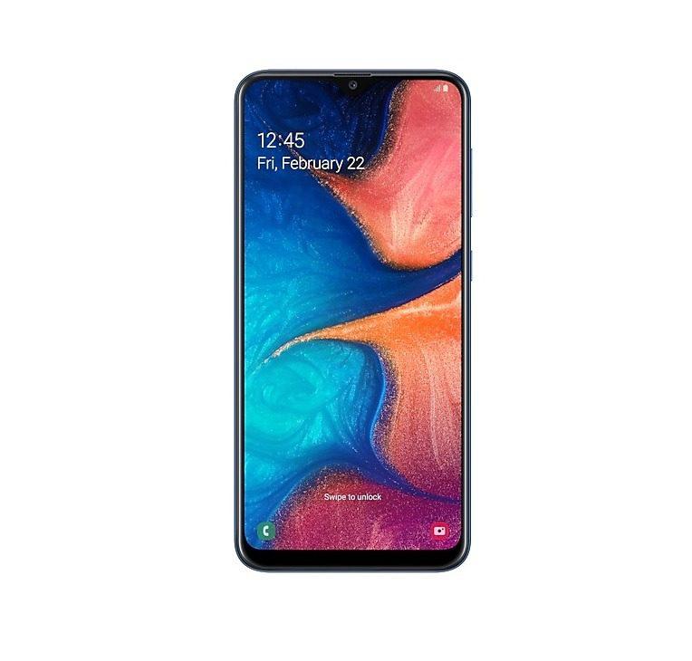 گوشی موبایل سامسونگ مدل Galaxy A20 دو سیم کارت ظرفیت ۳۲ گیگابایت