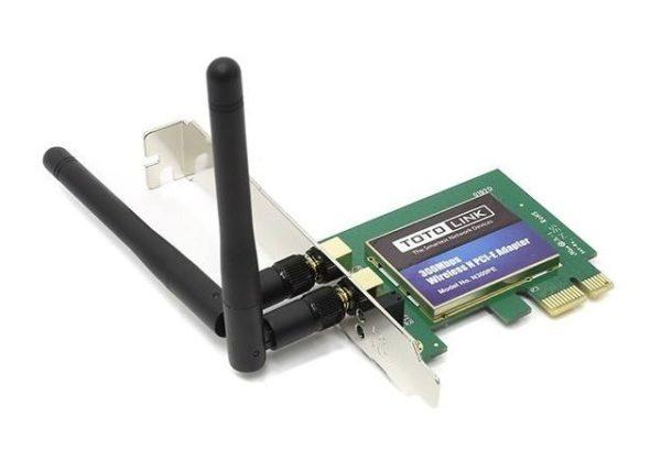 کارت شبکه بی سیم توتولینک N300PE