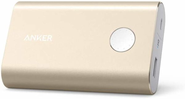 A1311 PowerCore+ 10050mAh Quick Charge 3.0 Power Bank- Gold-پاور بانک انکر میلی آمپر10050A1311 مدل