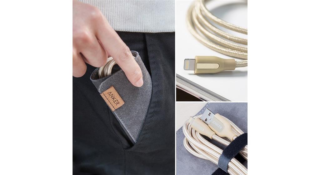 کابل تبدیل USB به لایتنینگ انکر مدل A8121 PowerLine Plus به طول ۰٫۹ متر