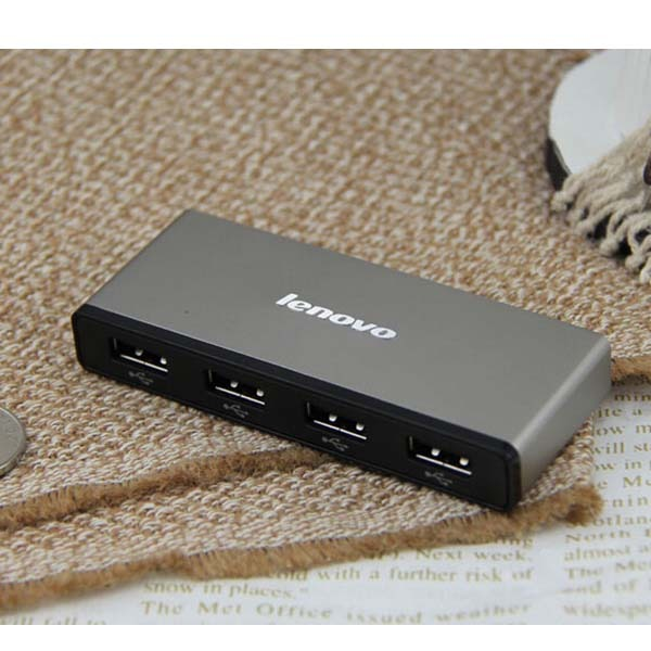 ماوس لپتاپی لنوو مدل NM50 همراه با هاب USB چهار پورت H406