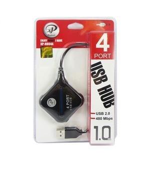 هاب USB 2.0 چهار پورت ایکس پی مدل H804A