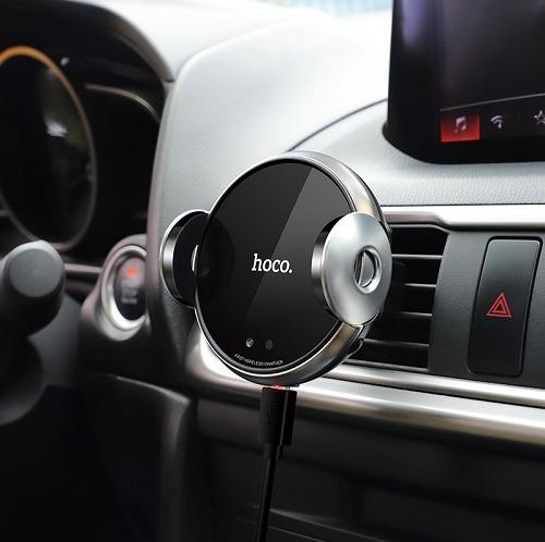 پایه نگهدارنده و شارژر بی سیم گوشی موبایل هوکو مدل CA48