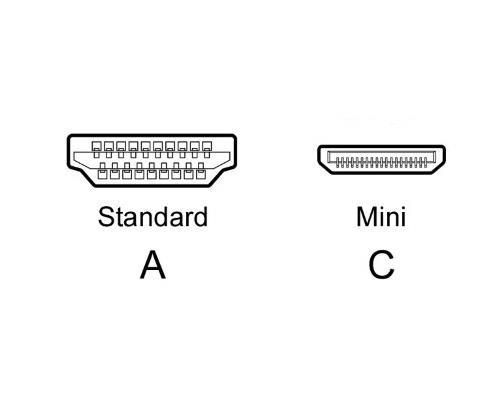 کابل تبدیل HDMI به Mini HDMI مدل VMC-30MHD به طول 1.5 متر