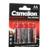 باتری قلمی Camelion مدل Plus Alkaline بسته ۴ عددی