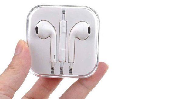 هندزفری اورجینال اپل EarPods مدل MD827FE/A