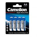 باتری قلمی کملیون مدل Super Heavy Duty بسته ۴ عددی
