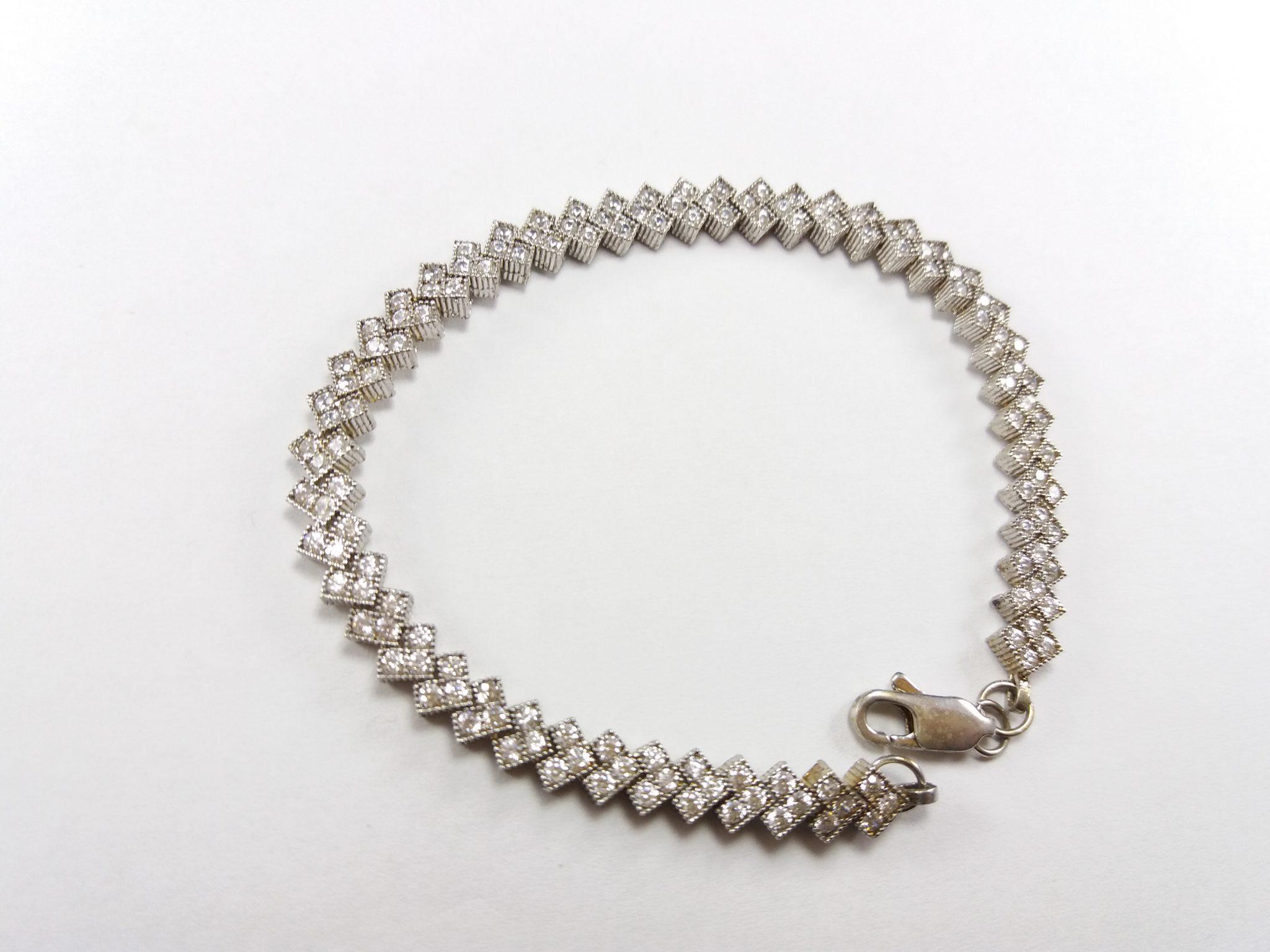 دستبند نقره زنانه آمیتیس گالری