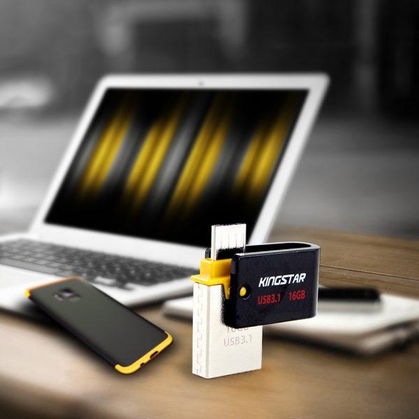 فلش مموری کینگ استار مدل S30 Dual 3 ظرفیت 64 گیگابایت
