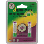 باتری نیم قلمی قابل شارژ CFL مدل ۱۸۵۰mah AAA بسته ۲ عددی