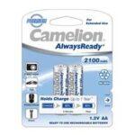 باتری قلمی قابل شارژ کملیون مدل AlwaysReady با ظرفیت ۲۱۰۰mAh بسته ۲ عددی