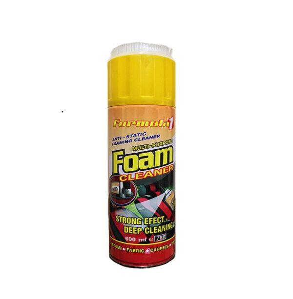 اسپری کف فرچه دار Formula 1 Foam 600ml