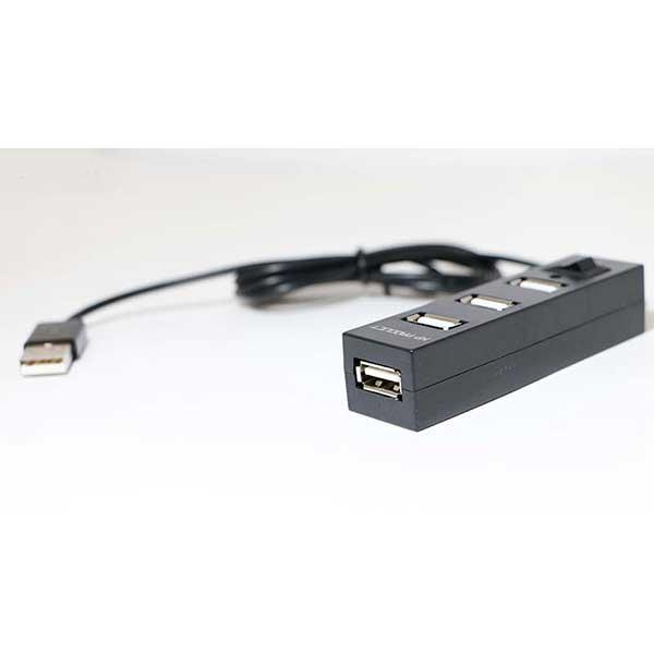 هاب USB چهار پورت ایکس پی XP-H806B کلید دار