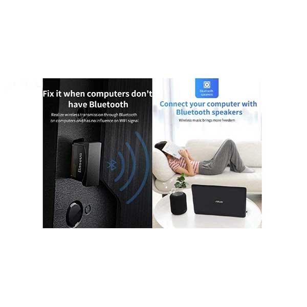 دانگل بلوتوث بیسوس Baseus CCALL-BT01 Mini USB Bluetooth Adapter